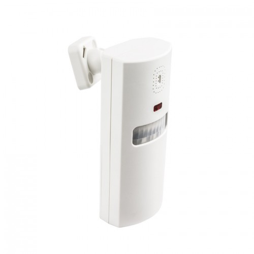 Alarma con Sensor Infrarrojo y 2 Controles Remotos