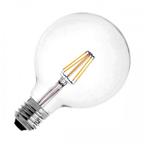 Bombilla LED E27 Regulable Filamento Supreme G125 6W
