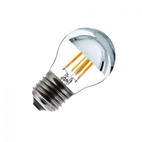 Bombilla LED E27 Regulable Filamento Reflect G45 3.5W