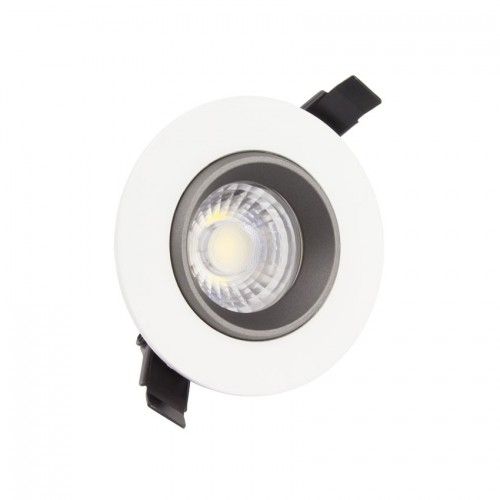 Foco Downlight LED COB Direccionable 360° Circular 7W Design