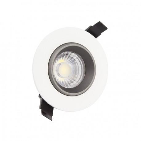 Foco Downlight LED COB Direccionable 360° Circular 15W Design