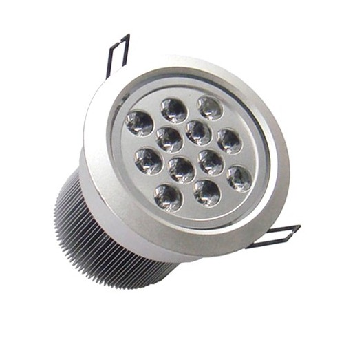 Foco Downlight LED Direccionable Circular 12x1W