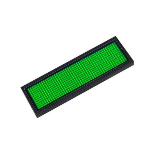 Microrótulo LED DC 3.6V IP20 Verde