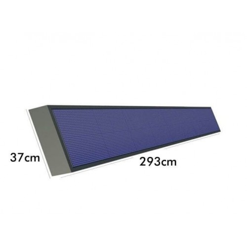 Rótulo electrónico LED Exterior Pixel 10 RGB Full Color 2.93 *0.97m