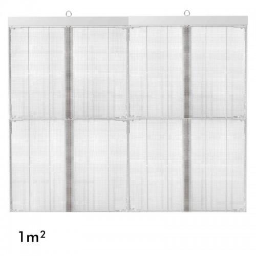 Rótulo electrónico LED Interior Serie MAGIC GLASS 1m2 (4 Modulos +Control)