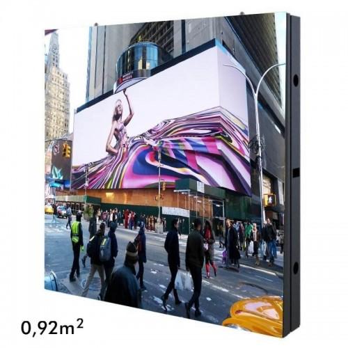 Rótulo electrónico LED Exterior Serie FIJA Pixel 10 RGB Full Color 96*96cm 0,92m2 -Modulo Apilable-