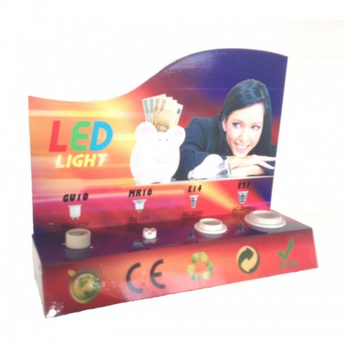 Expositor LED