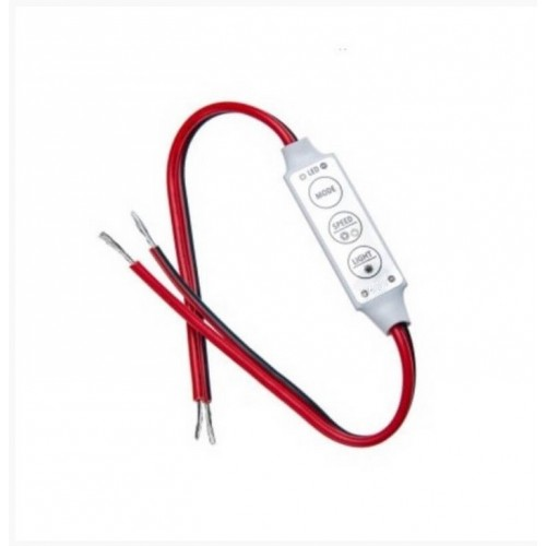 Mini Controlador Dimmer Tira Led Monocolor 12V DC