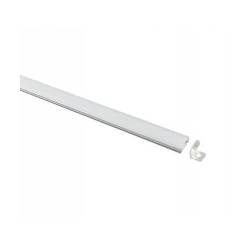 Perfil Aluminio U 2 metros