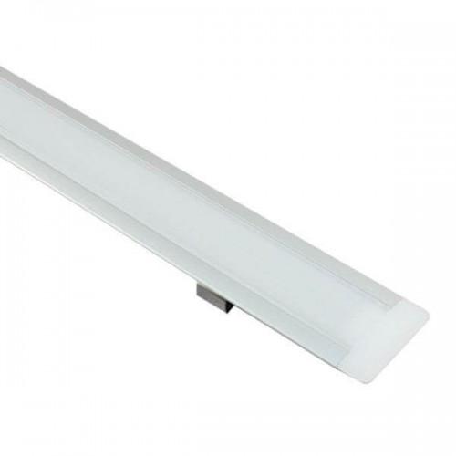 Perfil Aluminio Alas 2m. para encastrar