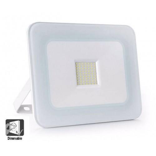 Foco Proyector Exterior LED Luxury 20W Blanco