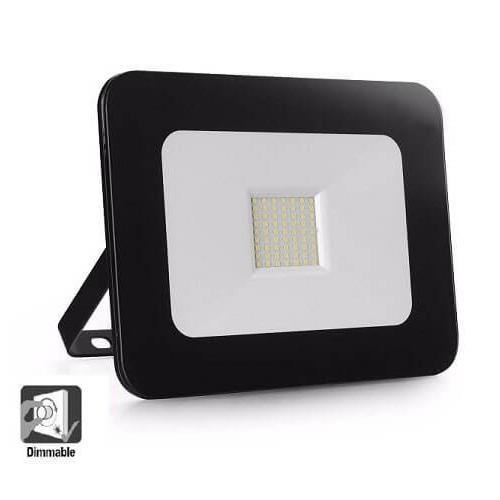 Foco Proyector Exterior LED Luxury 20W Negro