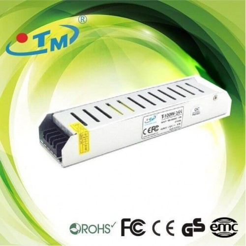 Fuente Alimentación Slim 24V 100W TECMO