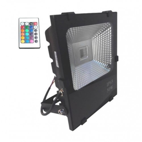 Foco Proyector Exterior LED 50W RGB PROFESIONAL