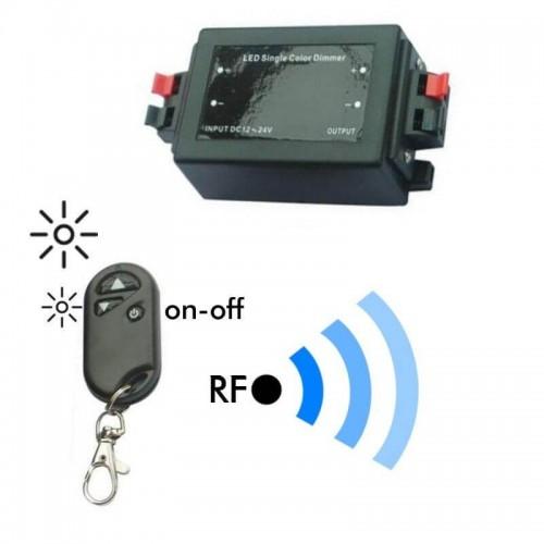 Dimmer RF para Tiras LED Monocromáticas 96-192W 12V