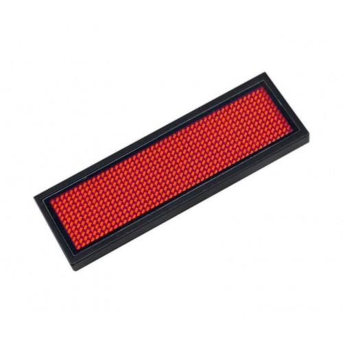 Microrótulo LED DC 3.6V Rojo