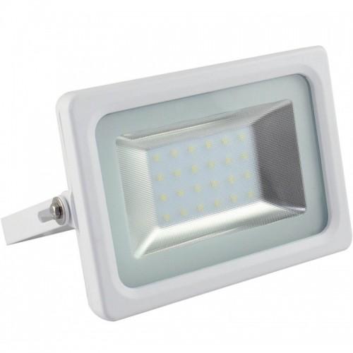 Foco Proyector Exterior Blanco 20W IP65 ECO 3030-3D