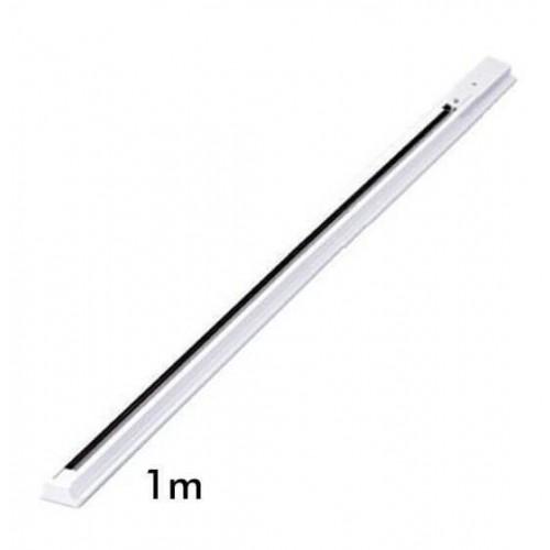 Carril Monofásico1 metro PIRAMIDAL para Focos LED