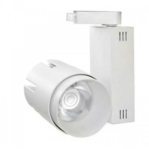 Foco LED 35W LARA WHITE para Carril Monofásico 24º