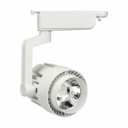 Foco LED 30W NORA WHITE para Carril Monofásico 35º