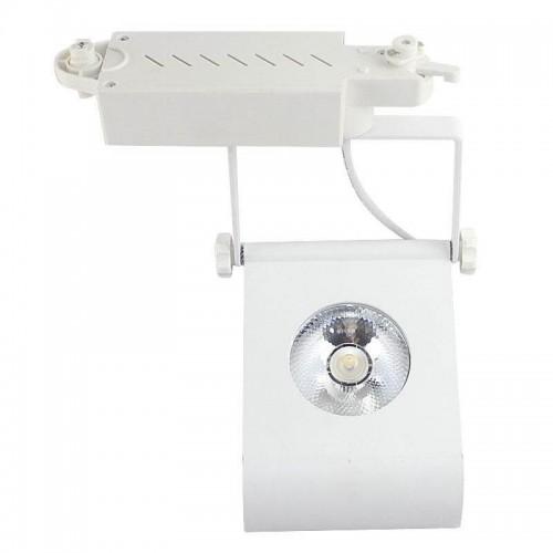 Foco LED 30W LUNA BLANCO para Carril Monofásico 60º