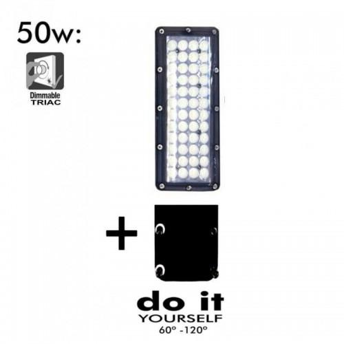 Farola LED DIY 50W 60º y 120º
