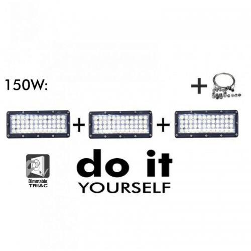 Campana LED DIY 150W 60º 6000K SMD 3030 -3D