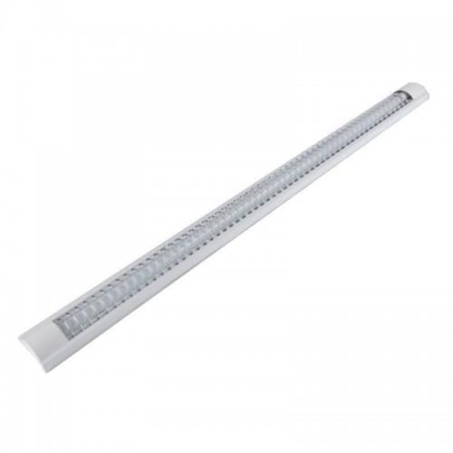 Pantalla para dos tubos de LED T8 120cm
