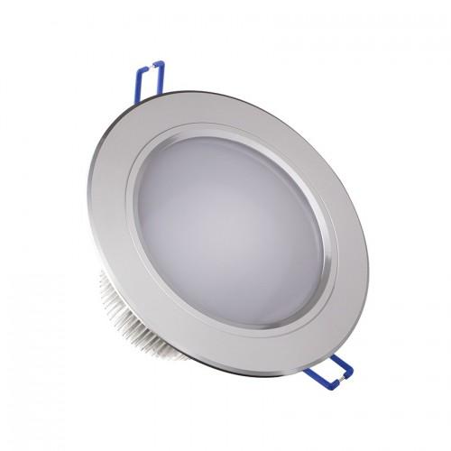 Foco LED Downlight Circular Traslúcido 12x1W