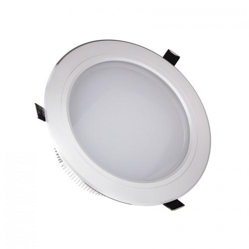 Foco LED Downlight Circular Traslúcido 15x1W