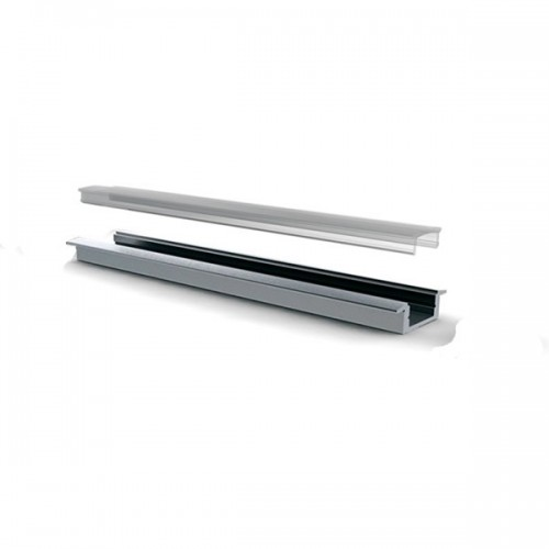 Perfil de Aluminio 1m para Tiras LED 046 A56