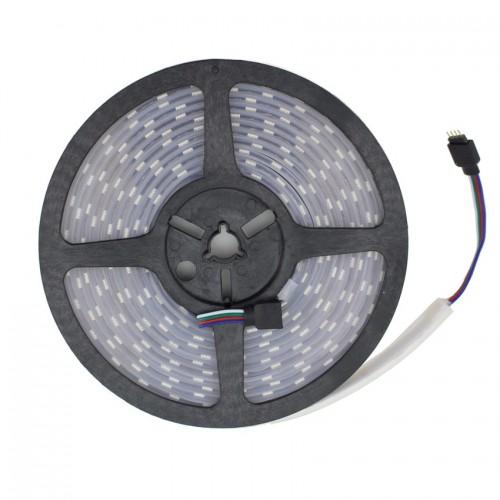 Tira LED 12V DC SMD5050 120LED/m 5m RGB IP67