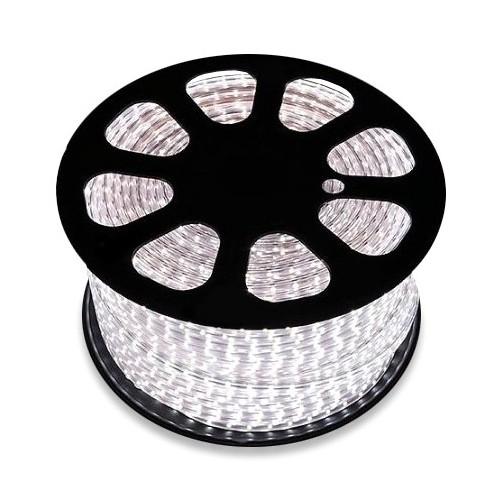 Bobina de Tira LED 220V AC SMD5050 60 LED/m Blanco Cálido (50 Metros)