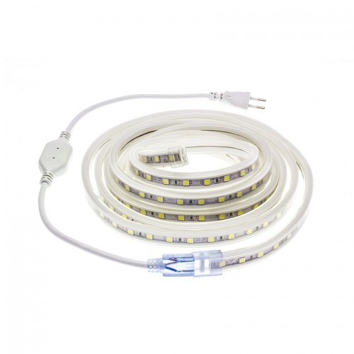 Tira LED 220V AC SMD5050 60 LED/m 6 Metros