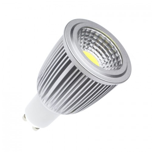 Lámpara LED GU10 Regulable COB 90º 7W