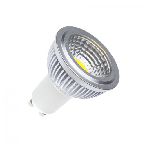 Lámpara LED GU10 Regulable COB 90º 5W