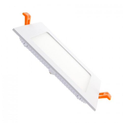 Placa LED Cuadrada SuperSlim 9W
