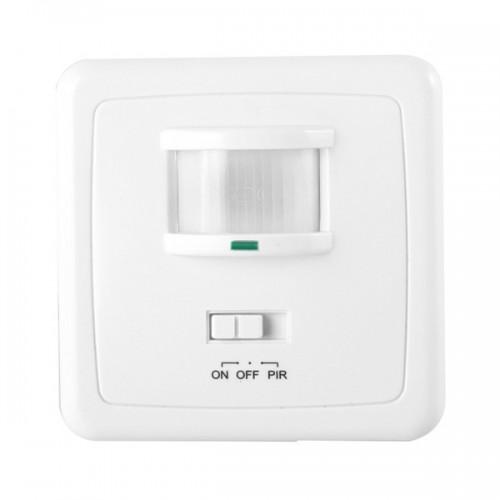 Detector de Presencia PIR 160º Empotrable