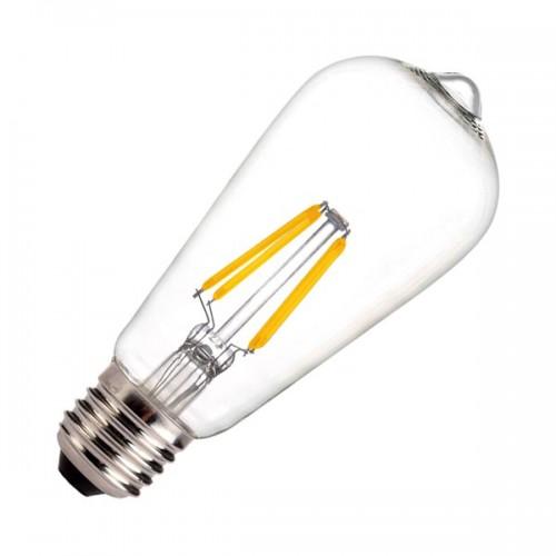 Bombilla LED E27 Regulable Filamento Lemon ST58 5.5W
