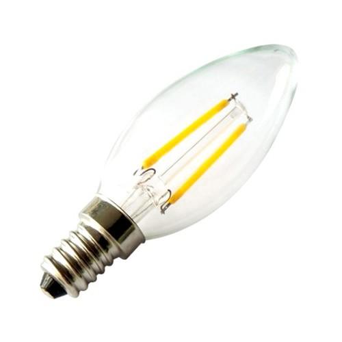 Bombilla LED E14 Filamento Classic C35 2W