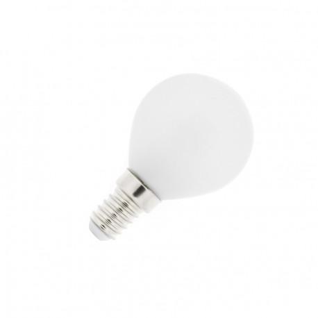 Bombilla LED E14 Esférica Glass 4W