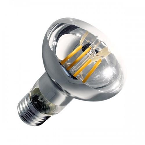 Bombilla LED E27 Regulable Filamento R63 3.5W