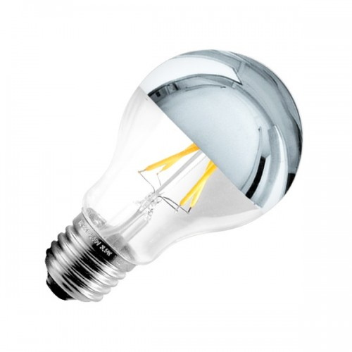 Bombilla LED E27 Regulable Filamento Reflect A60 3.5W
