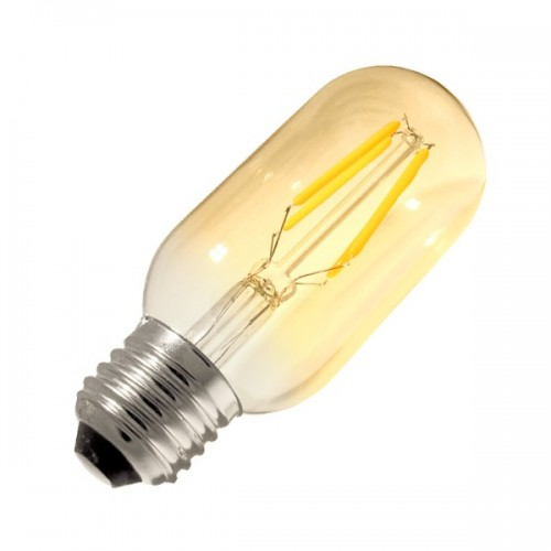 Bombilla LED E27 Regulable Filamento Tory Gold T45 3.5W