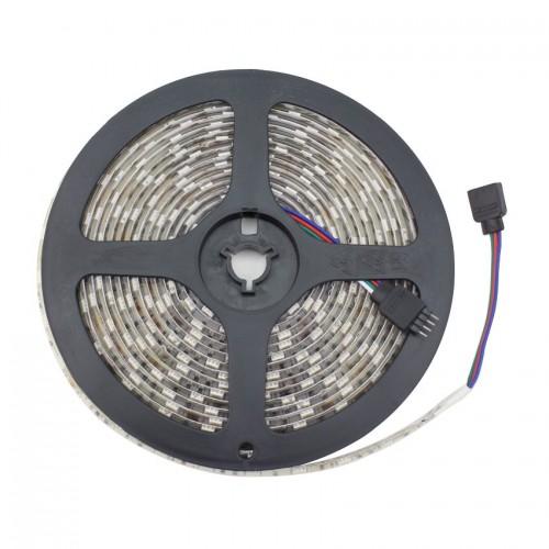 Tira LED 12V DC SMD5050 30LED/m 5m RGB IP65