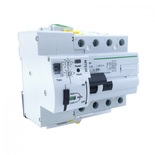 Interruptor Diferencial Rearmable 4P-63A-300mA-10kA