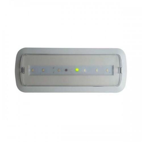 Luz de Emergencia LED 3W + Kit Techo