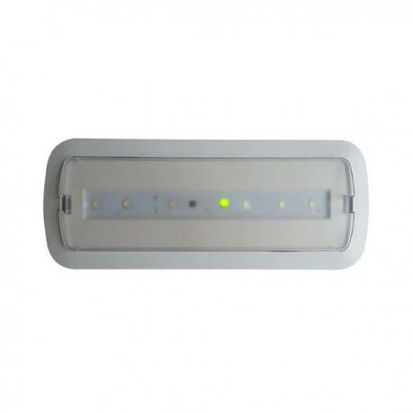 Luz de Emergencia LED 3W + Kit Techo & Luz Permanente