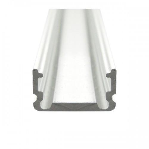 Perfil de Aluminio 1m para Tiras 120 LED/m B39