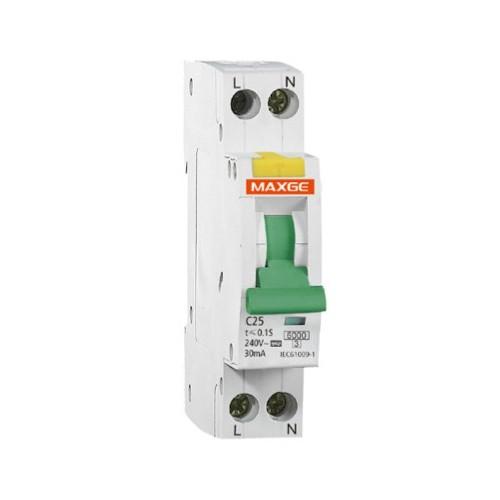 Interruptor Combinado DPN (Automático + Diferencial) 1P+N-6kA